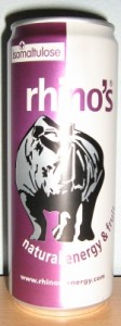 Rhino's Natural Energy & Fruit