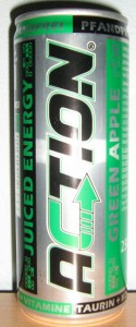 Action Juiced Energy Green Apple