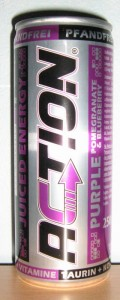 Action Juiced Energy Purple