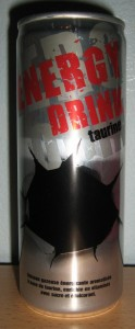 Energy Drink Taurine