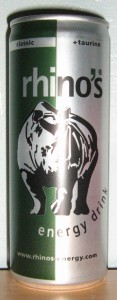 Rhino's Energy Drink