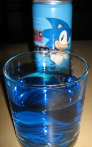 Sonic Speed Glas