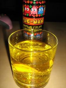 Pac-Man Bonus Fruit im Glas