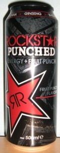 Rockstar Punched Energy + Fruit Punch