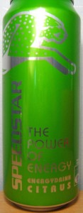 Speedstar Energy Drink Citrus