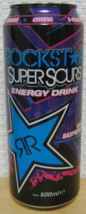 Rockstar Super Sours Blue Raspberry