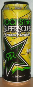 Rockstar SuperSours Lime
