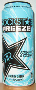 Rockstar Freeze - Pineapple & Coconut