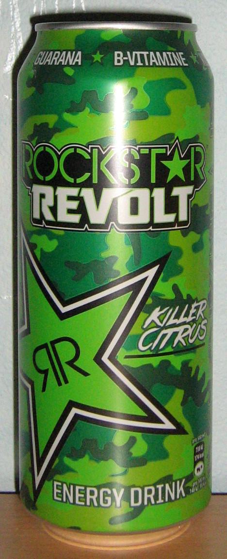 Rockstar Revolt Killer Citrus