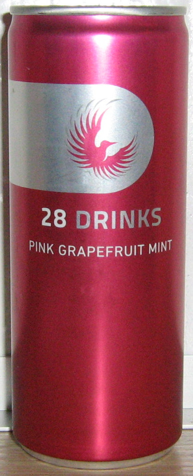 28 Drinks - Pink Grapefruit Mint