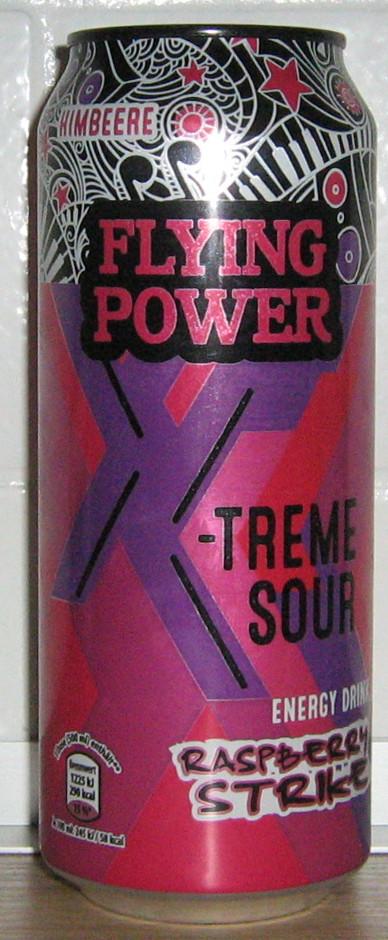 Flying Power X-Treme Sour Raspberry Strike
