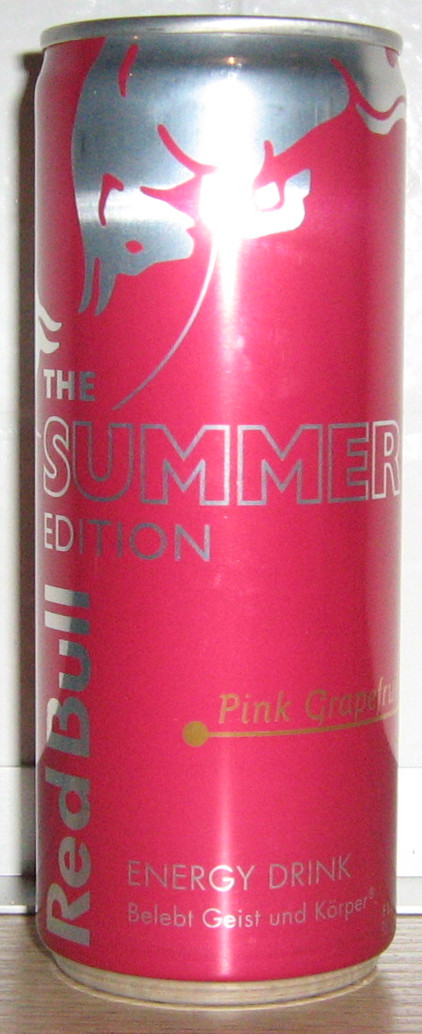 Red Bull Pink Grapefruit