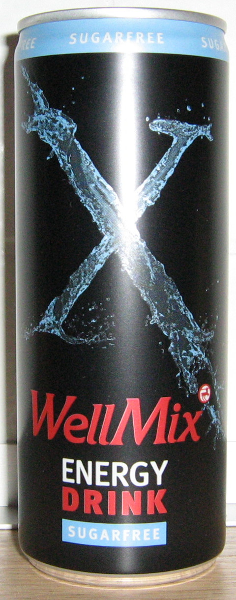 WellMix Energydrink Sugarfree
