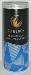 28 Black Absolute Zero Guava-Passion Fruit